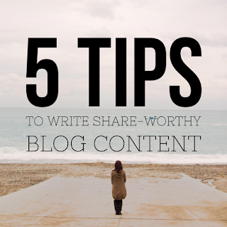 creating shareworthy blog content