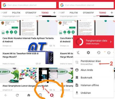 Cara menghilangkan iklan Lewat Browser