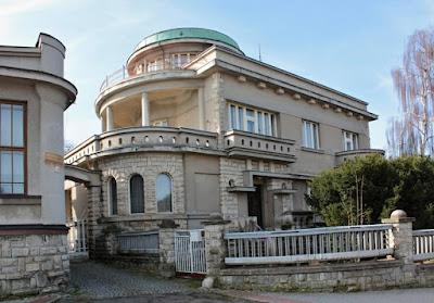 Vila Břetislava Kafky v Červeném Kostelci