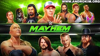 تحميل لعبة WWE Mayhem مهكرة للاندرويد اخر اصدار 1.14.275