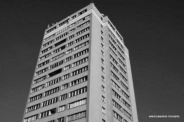 Warsaw blok bloki bloczyska architektura blokowisko Mokotów