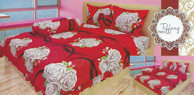 grosir sprei lady rose termurah, jual sprei lady rose surabaya