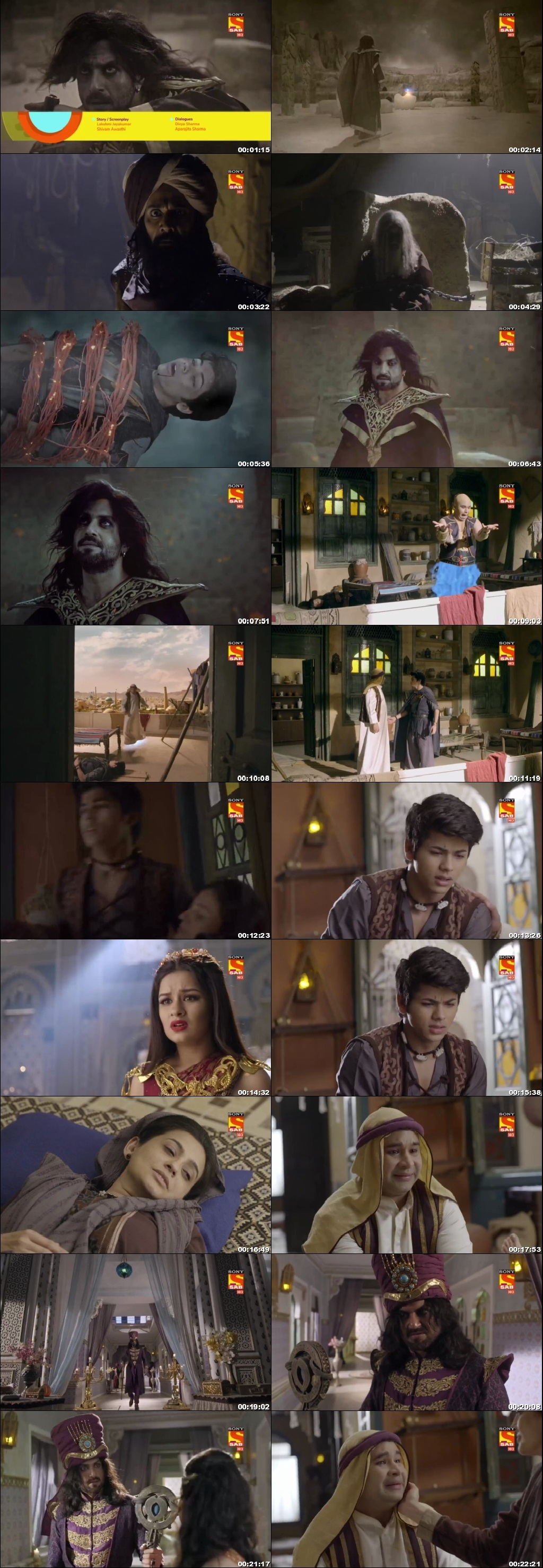 Screenshots Of Hindi Show Aladdin – Naam Toh Suna Hoga 2018 Episode 67 300MB 720P HD