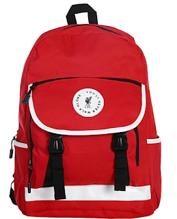 Playful Red Backpack For Your Footballer: Rs 1006