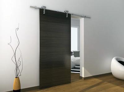 model pintu minimalis satu pintu modern terbaru