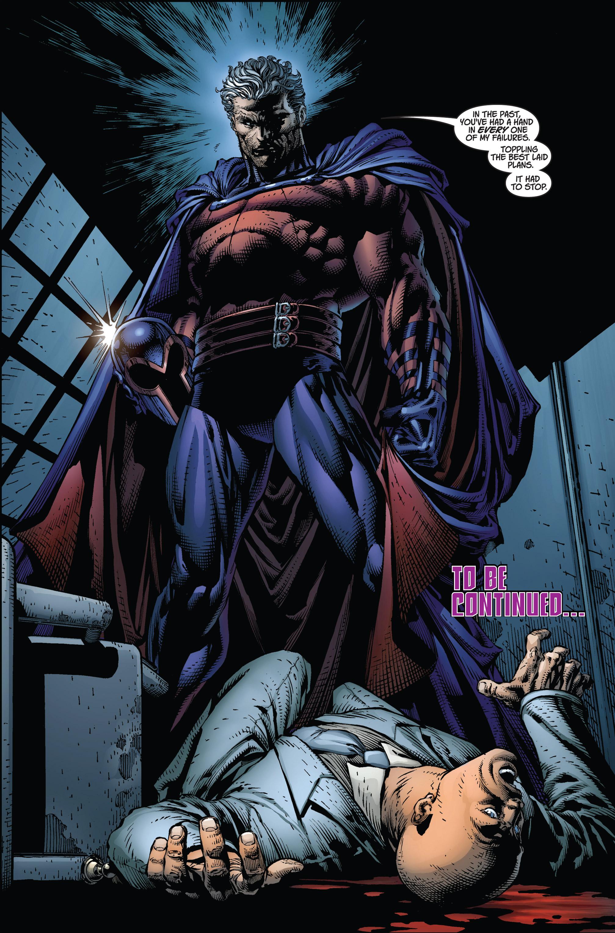 Read online Ultimatum comic -  Issue #2 - 24