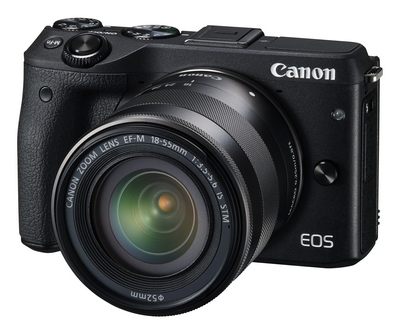 Canon EOS M3 mirrorless DSLR