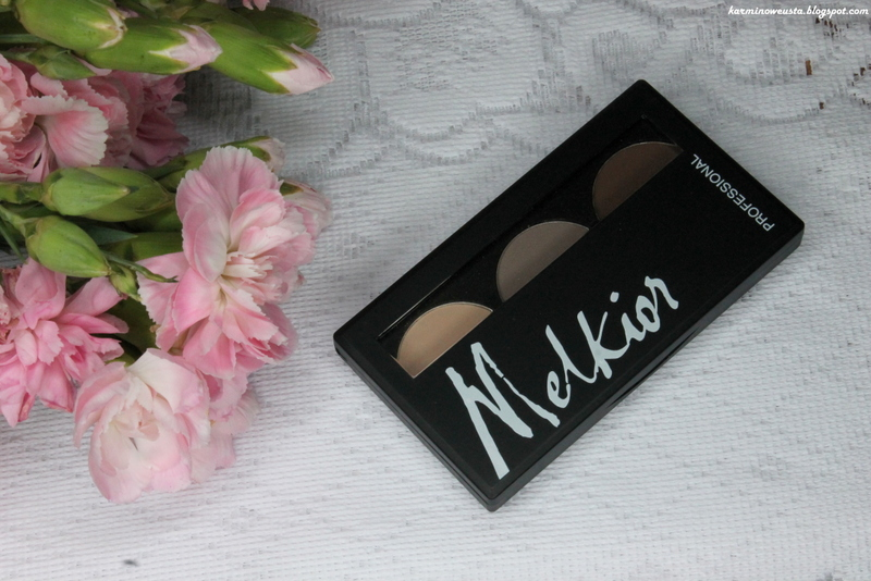 Melkior Professional paletka cieni do powiek Natural Look