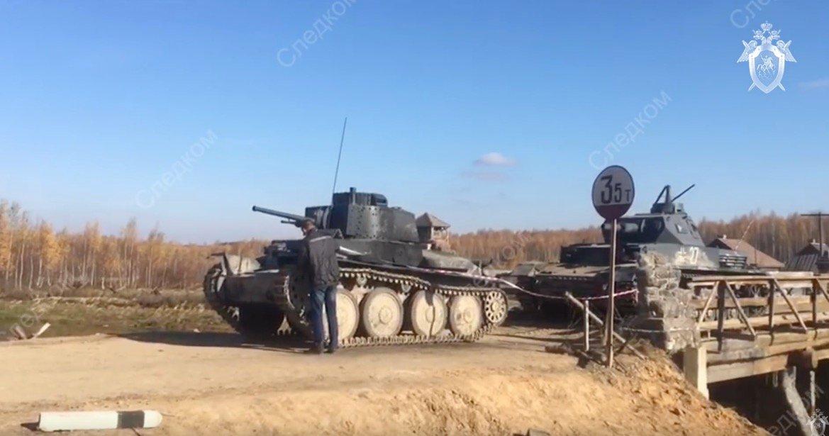 Каскадер погиб от наезда российского танка