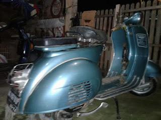 Jual Vespa GL Tahun 1963 4speed 150cc Full Paper