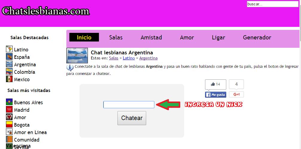 Chat latino lesbianas