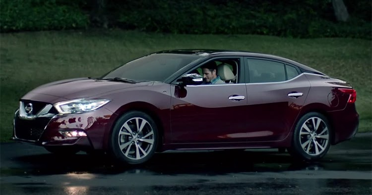 All-New 2016 Nissan Maxima Appears in Super Bowl Ad