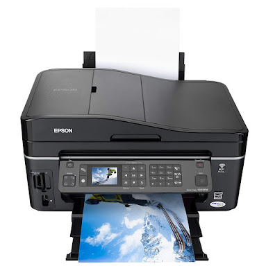 Print swell photos straight from your retentiveness carte du jour using the  Epson Stylus SX610FW Driver Downloads