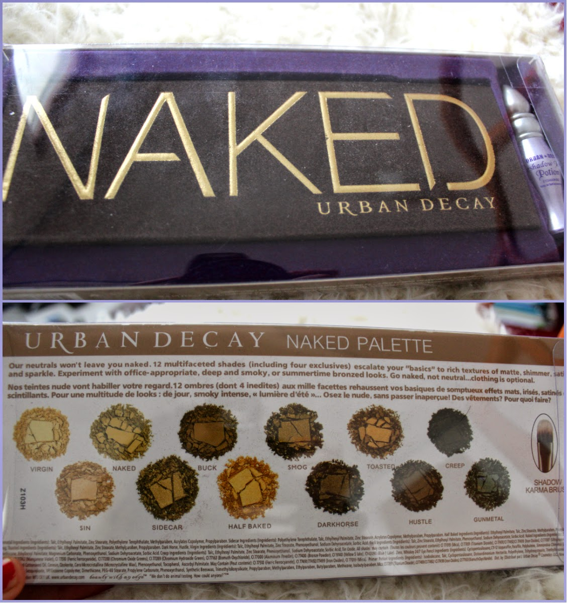 urban decay naked palette basics review