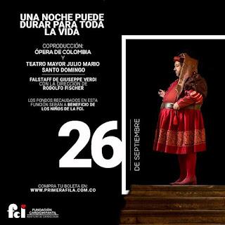Poster OPERA FALSTAFF de Giuseppe VERDI 2017