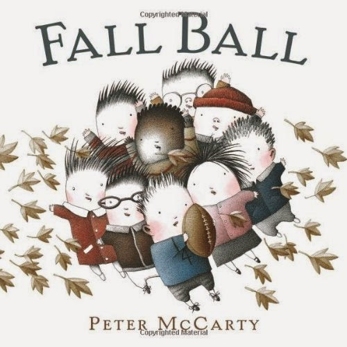 Fall Ball, part of children's book review list about fall