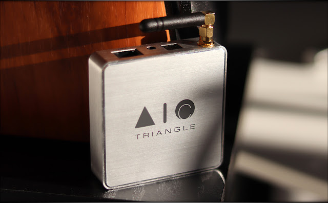 Triangle AIO C Connect Wireless Music Streamer Review - Audiophile Heaven