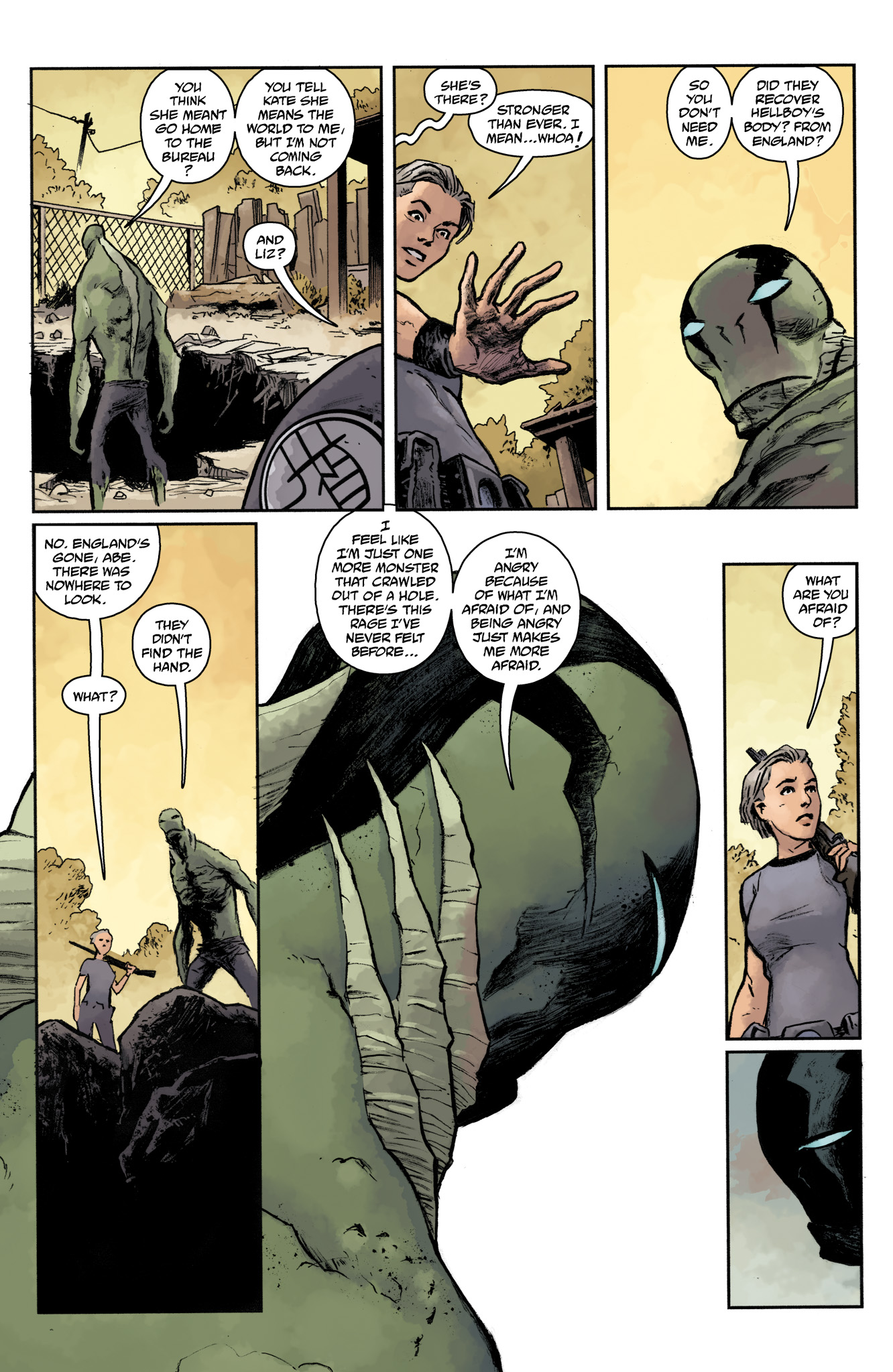 Read online Abe Sapien comic -  Issue #17 - 19