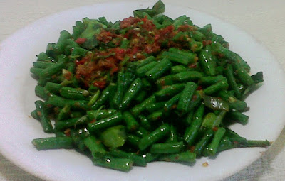 Resep Tumis Kacang Panjang Bumbu Woku