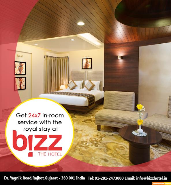 24X7 Room Service at Rajkot