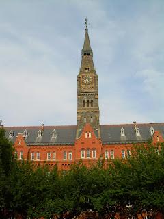 Healy Tower Georgetown University
