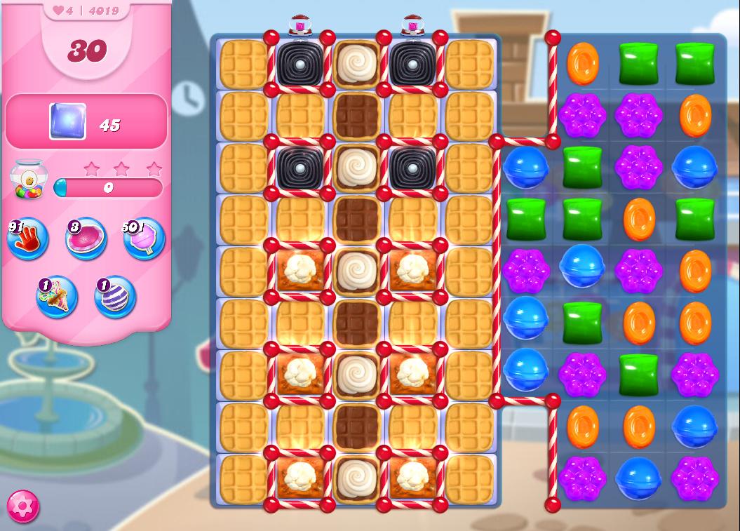 Candy Crush Saga level 4019