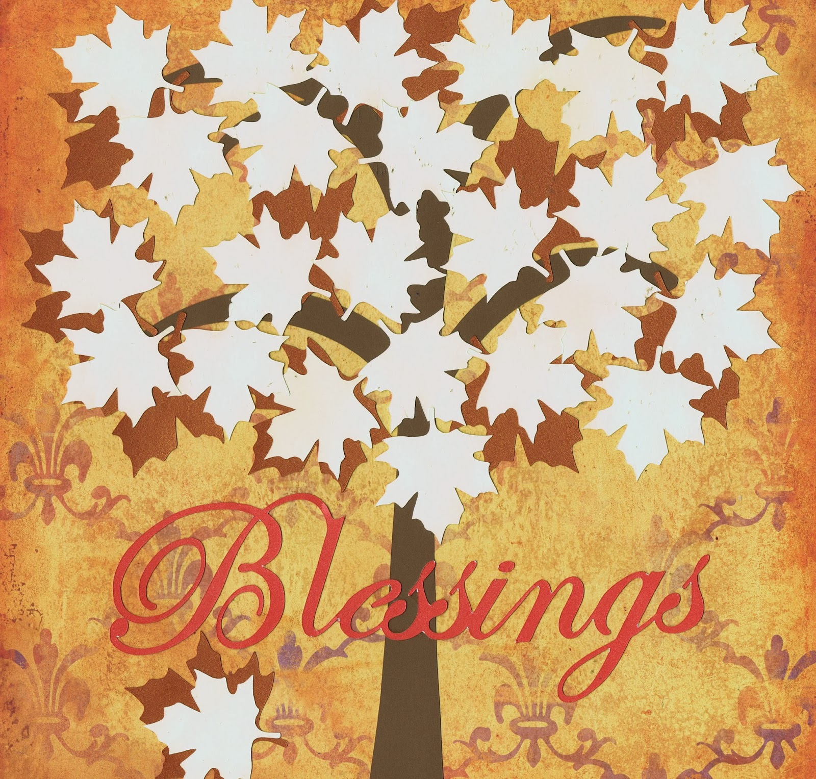 Nellie S Cottage Thanksgiving Blessing Trees Printable