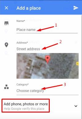 गूगल में अपने घर या दुकान का पता कैसे डाले.