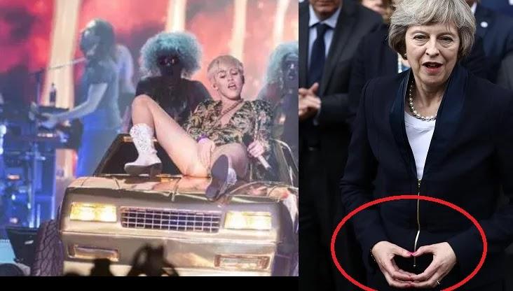 Bρετανική Express: Τερέζα Μέι, Μέρκελ και Γιούνκερ είναι στους Illuminati [εικόνες].