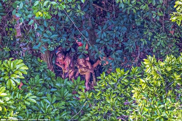 Increíbles imágenes muestran primer contacto de tribu amazónica