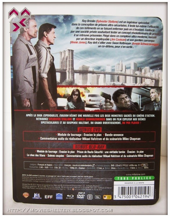 movie shelter destination point for movies escape plan limited edition steelbook blu ray france