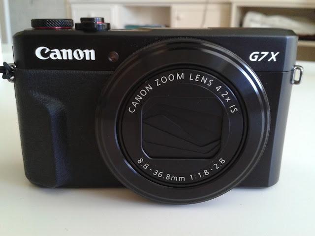 Camara Canon G7X Mark II