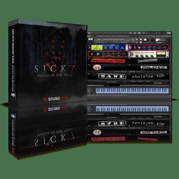 Soundiron Sick 7 Voices Of The Dead KONTAKT Library