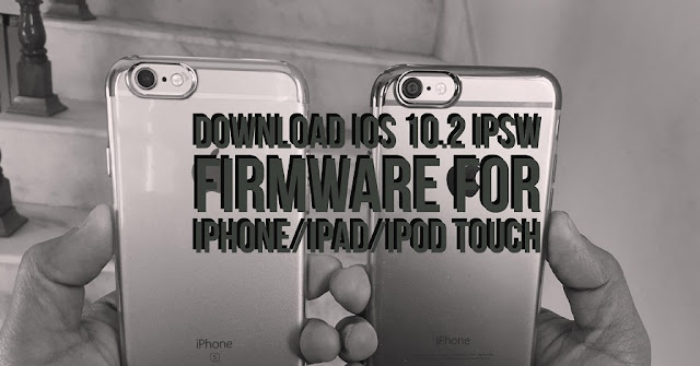 You can download iOS 10.1 ipsw firmware file for iPhone, iPad and iPod touch using the direct iOS 10.2 download links below according to your supported model and update your device manually.