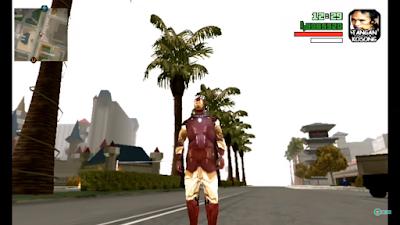 MOD Iron Man Hand Gun (Laser Mematikan) Gta Android