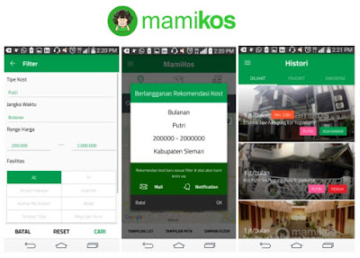 Bisnis, Info, Rumah, Kos, Aplikasi, MAMIKOS
