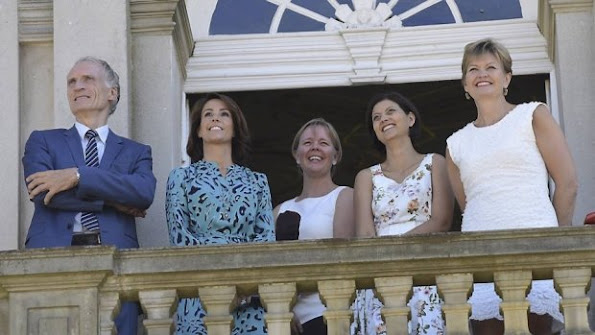 "Princess Marie of Denmark attended the ceremony to mark the inclusion of ""The Par force hunting landscape North Zealand"" joining the UNESCO'"