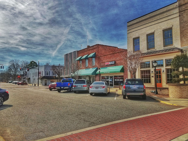 Main Street of Wendell, NC