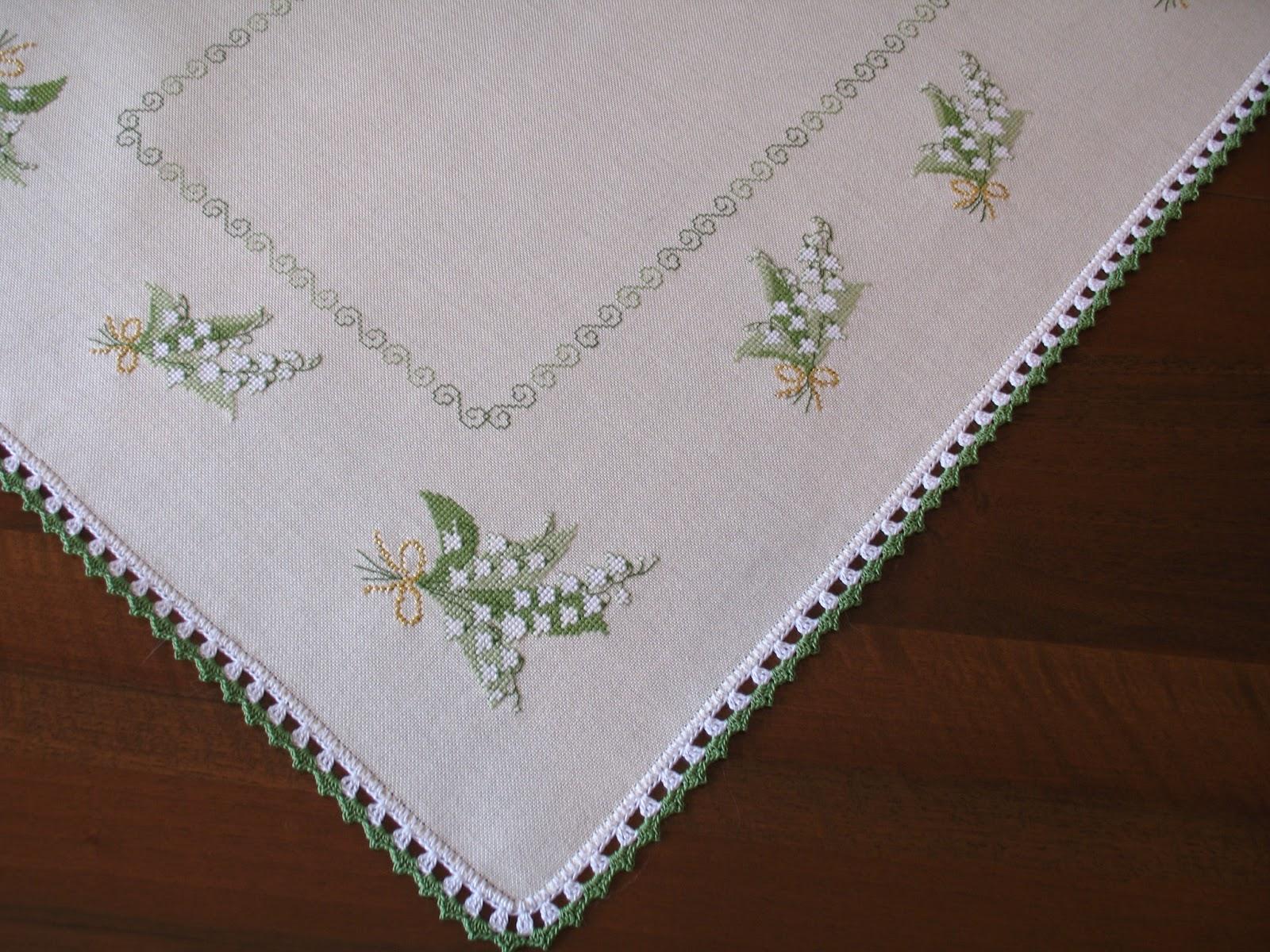 Le creazioni di barbara69 bordi a uncinetto su tovagliette for Tovaglie all uncinetto