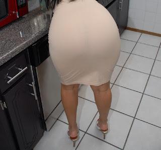Morena curvas vestido entallado