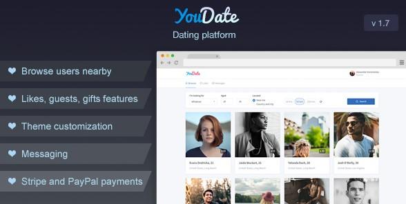 YouDate v1.7 - Dating Script