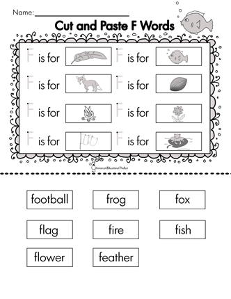 four letter f words glimmercat education introducing letter f 3891