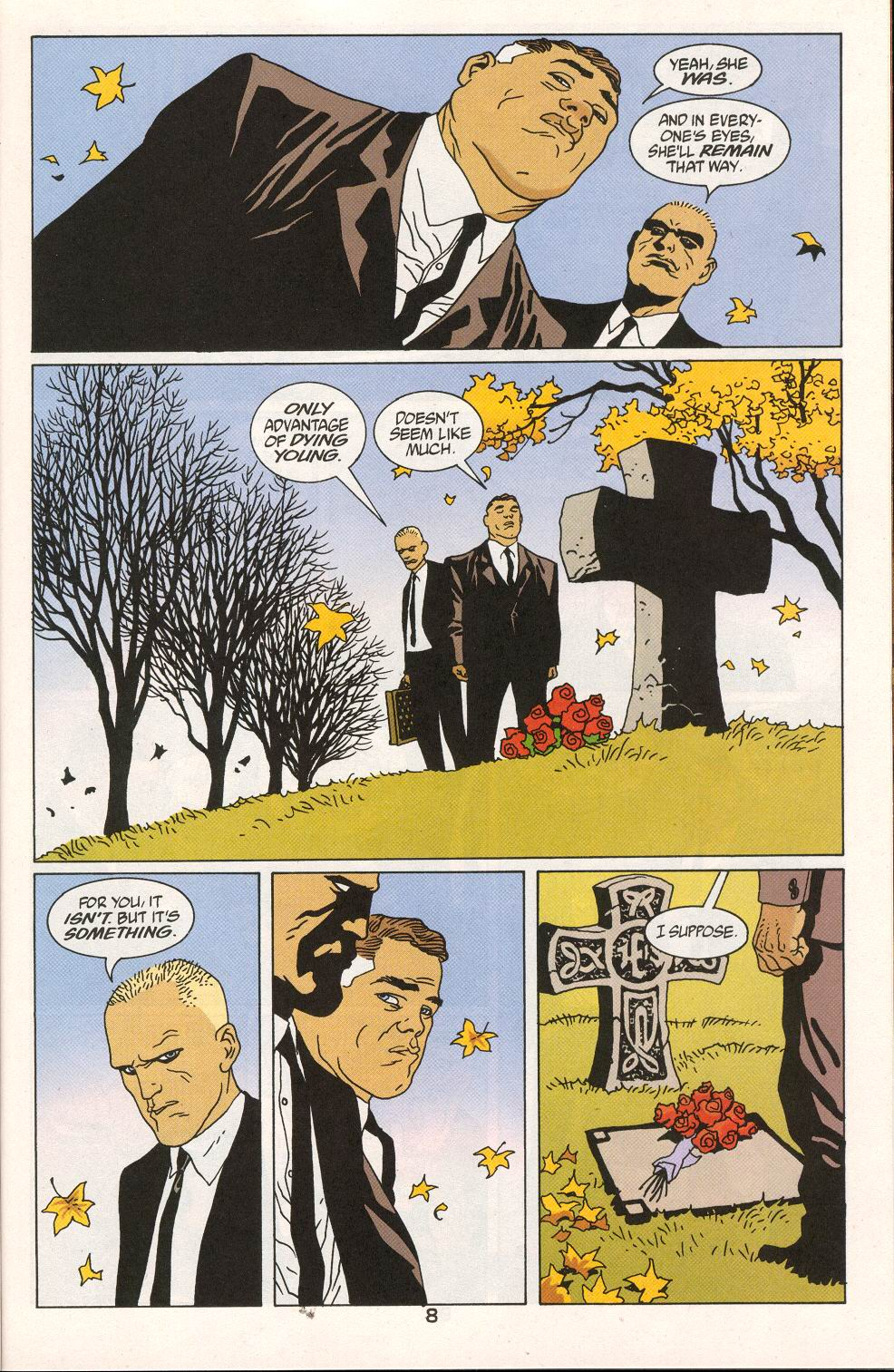 Read online 100 Bullets comic -  Issue #27 - 10