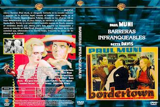 Carátula: Barreras infranqueables (1935)(Bordertown)