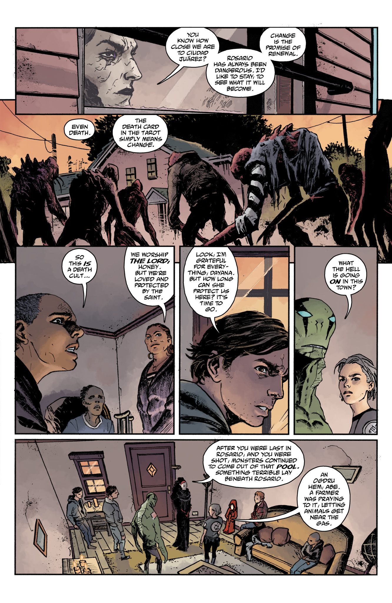 Read online Abe Sapien comic -  Issue #17 - 7