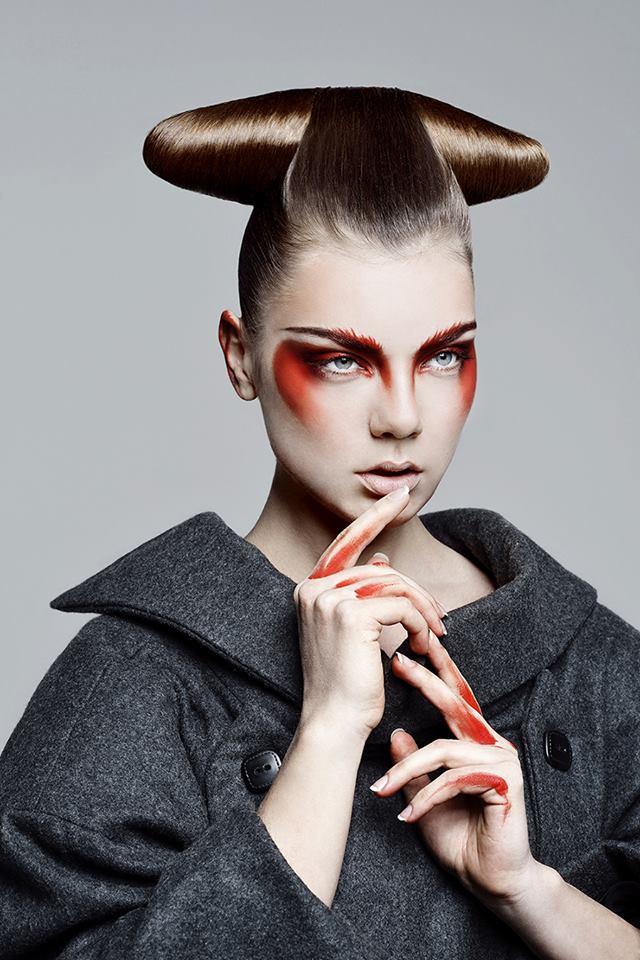 Avant Garde Designer: New Geisha, 7 Avant-garde Haistyle And Makeup Trends