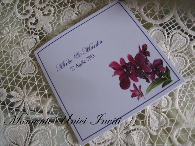 floral7 Partecipazioni card linea florealeLinea Floreale