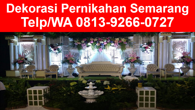 0813 9266 0727 tsel wedding decoration gedung di semarang junglespirit Image collections