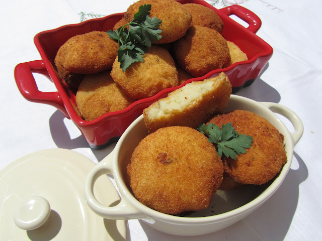 Nuggets de merluza y patata Thermomix