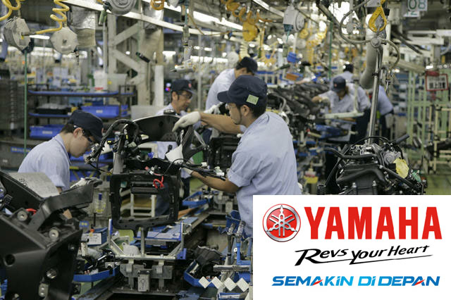 Lowongan Kerja SMA SMK D3 S1 PT. Yamaha Indonesia Motor Mfg, Jobs: IT Staff, Frontlines, Staff Production Engineering, Human Resources Staff, Etc.